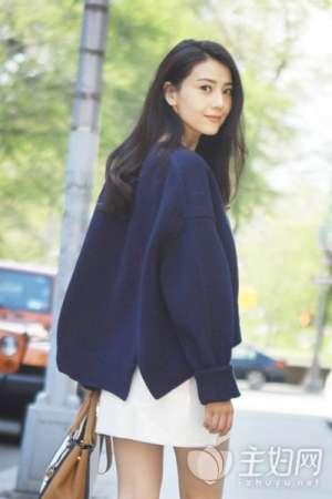 资讯【毛衣搭配图片】明星达人为你支招秋季毛衣搭配